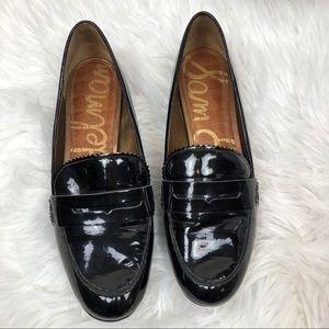 Sam Edelman Etiene Black Slip On Loafers 7M
